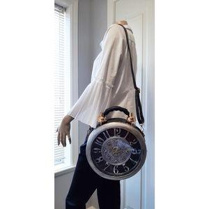 NWT Unique Samuel Dong Clock Bag